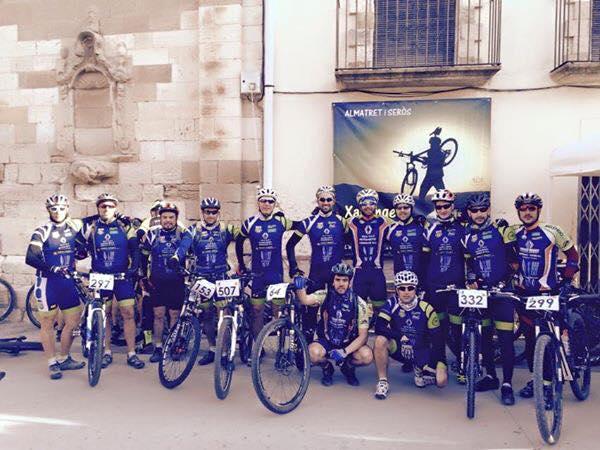 foto grupo en Almatret